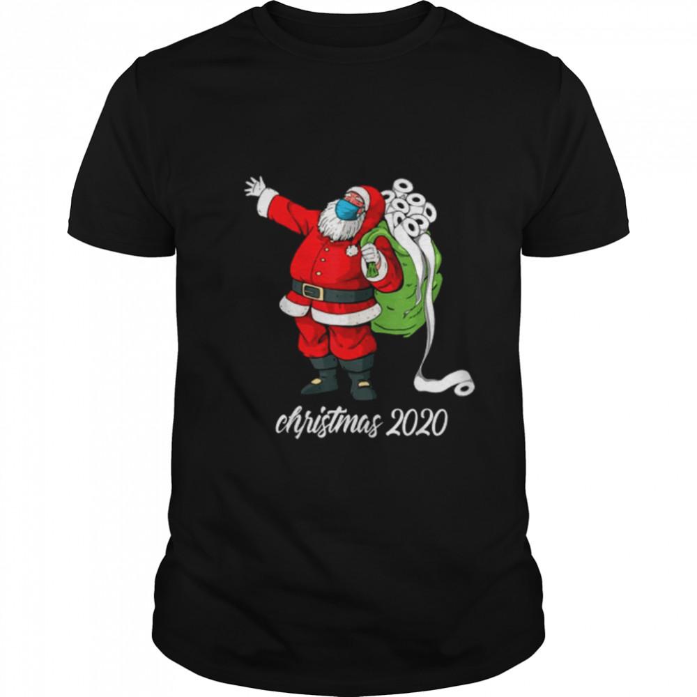 Christmas 2020 Santa Mask Santa Bag Toilet Paper shirt Classic Men's