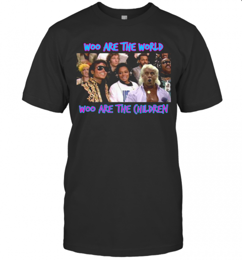 Woo Are The World Woo Are The Children shirt Classic Men's