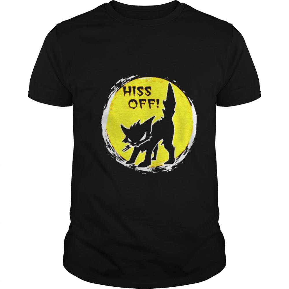 Black Cat Metal Hiss Off shirt Classic Men's