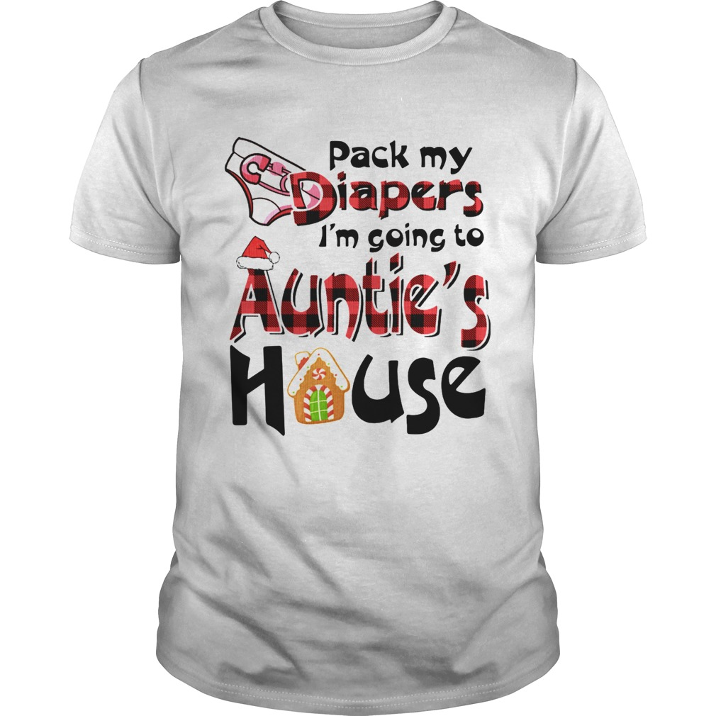 Pack My Diapers Im Going To Aunties House shirt Classic Men's