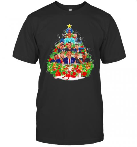 Paris Saint Germain Football Club Christmas Tree shirt Classic Men's