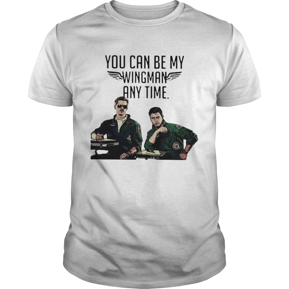Tom Cruise You Can Be My Wingman Any Time shirt Classic Men's