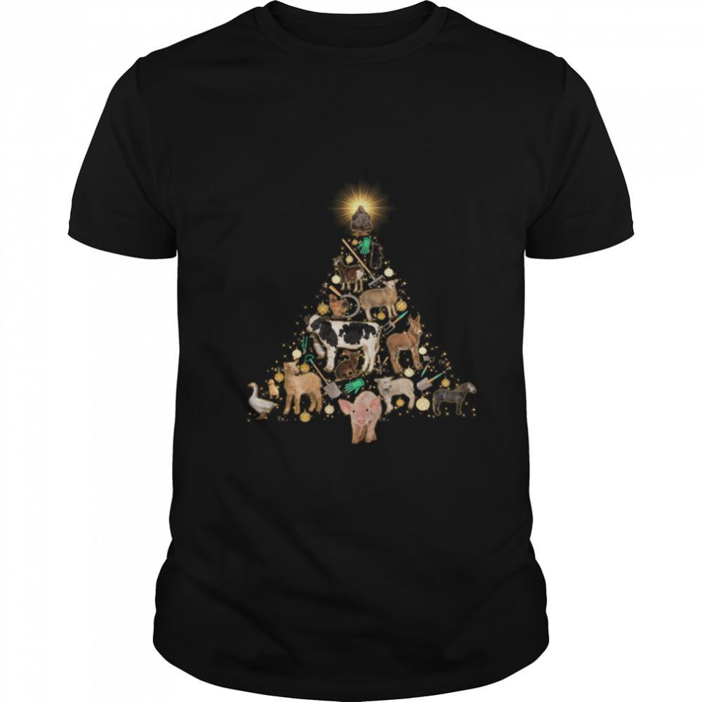 Animals Tree shirt Classic Men's