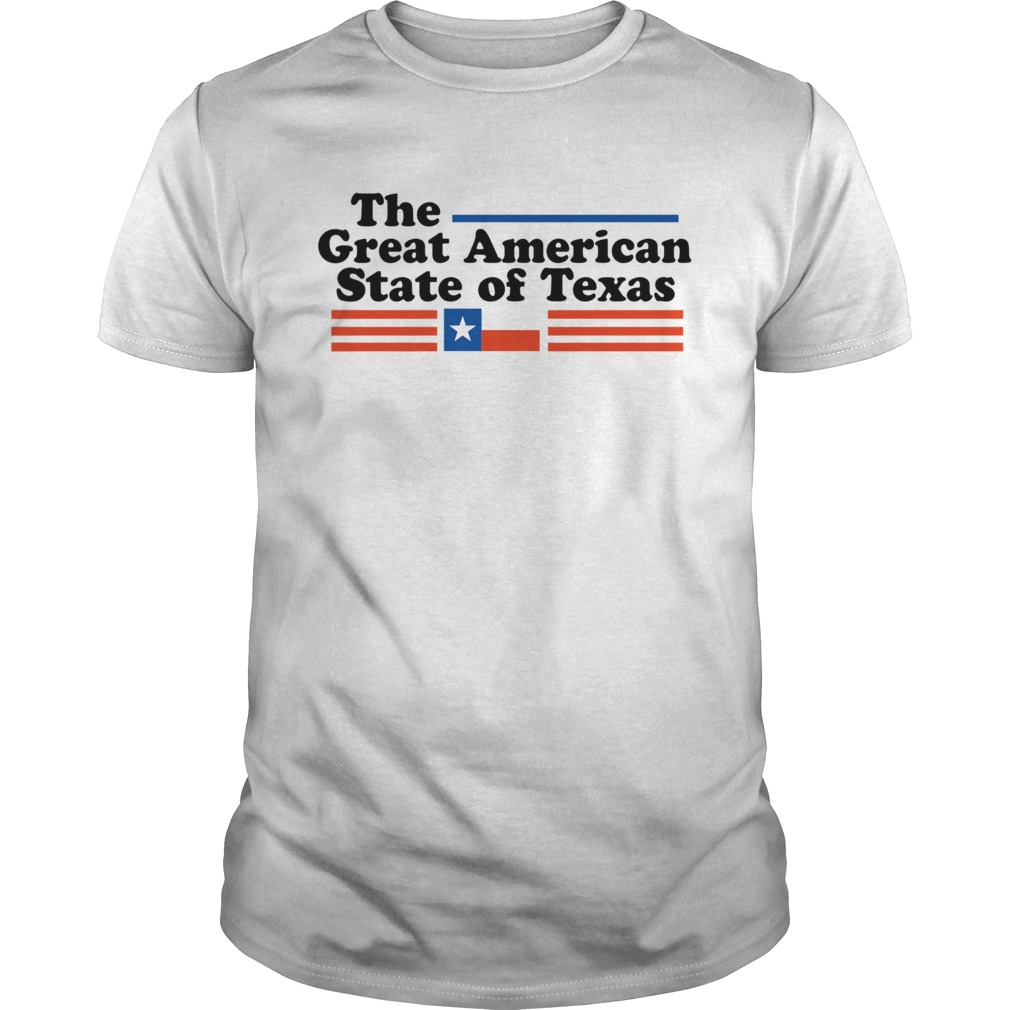 The Great American State Of Texas shirt Classic Men's