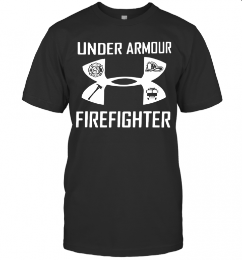 Under Armour And Firefighter shirt Classic Men's