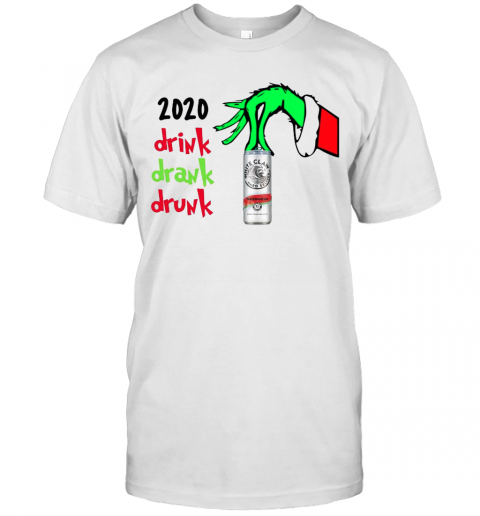 2020 Drink Drank Drunk Christmas shirt Classic Men's