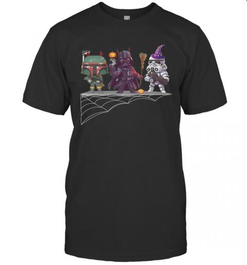Boba Fett Darth Vader Star Wars Halloween shirt Classic Men's