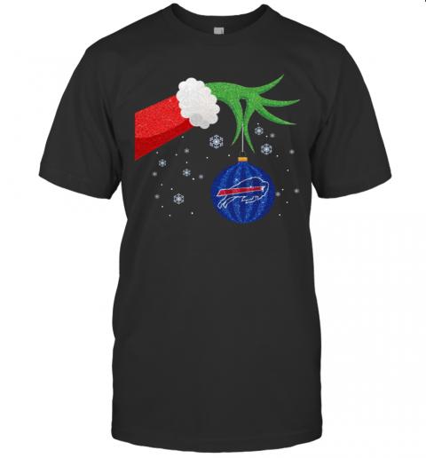 Hand The Grinch Holding Christmas 2020 Ornament Buffalo Bills shirt Classic Men's