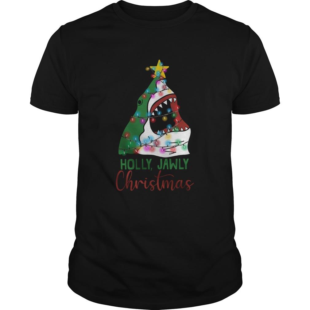 Shark Holly Jawly Christmas shirt Classic Men's