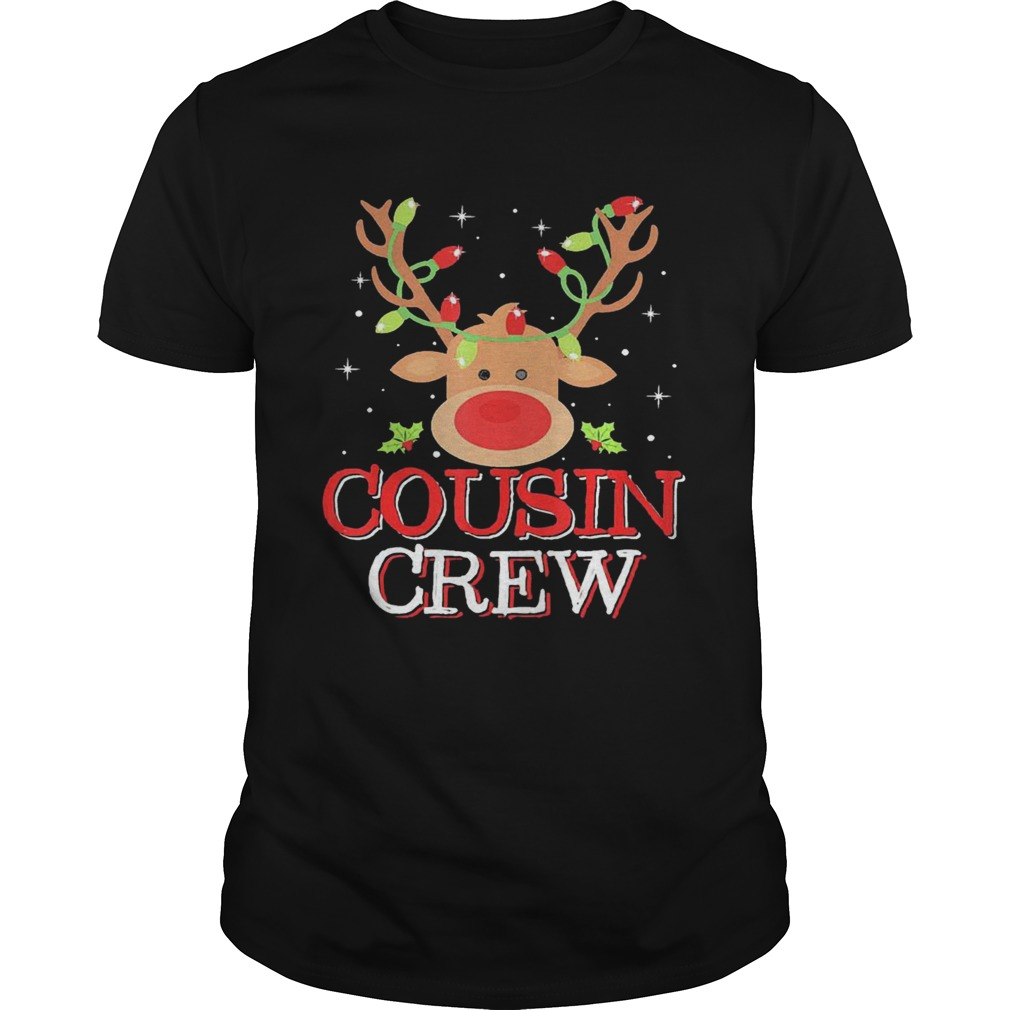Reindeer Light Cousin Crew Christmas shirt Classic Men's