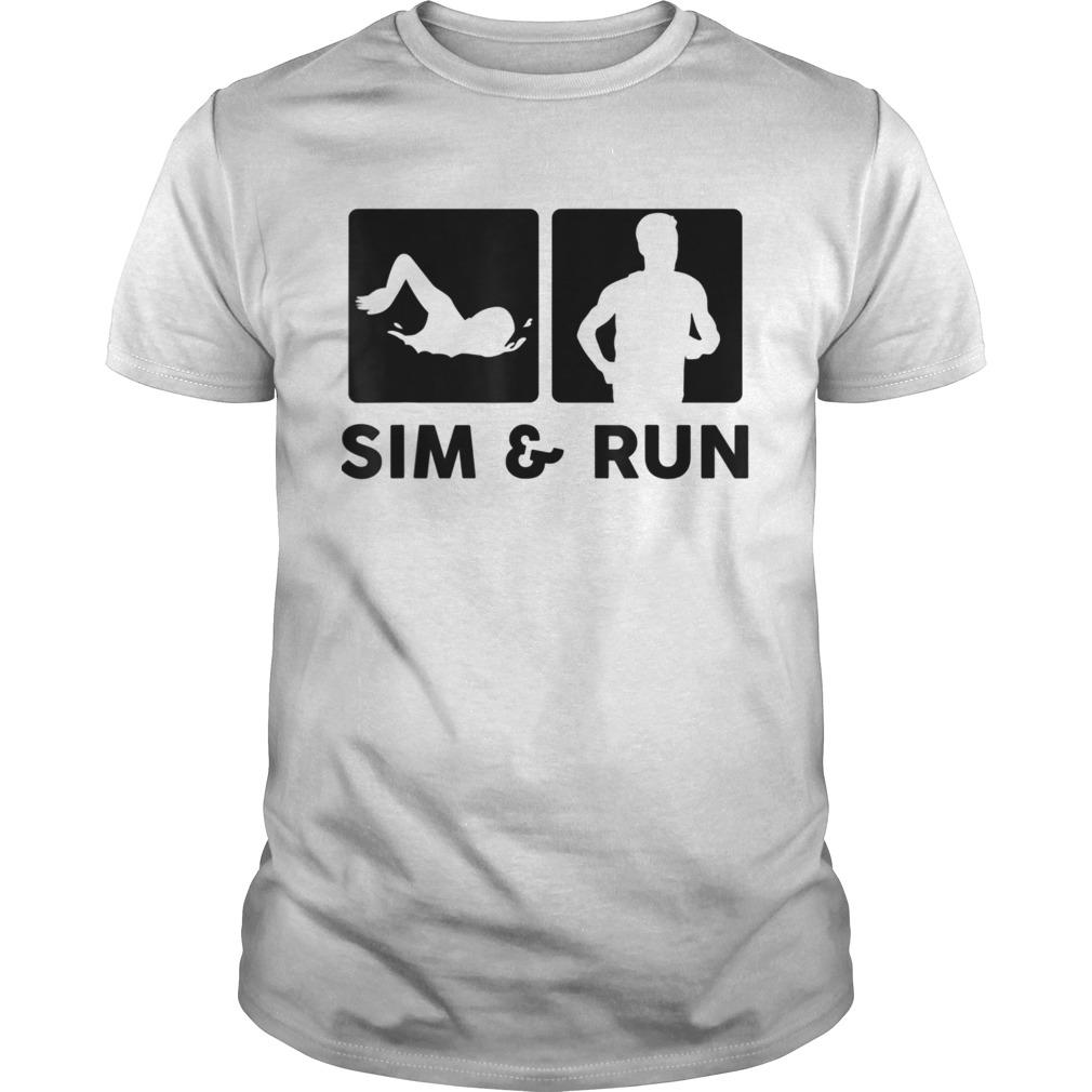 Aquathlon Swim Run Triathlon Athlete shirt Classic Men's