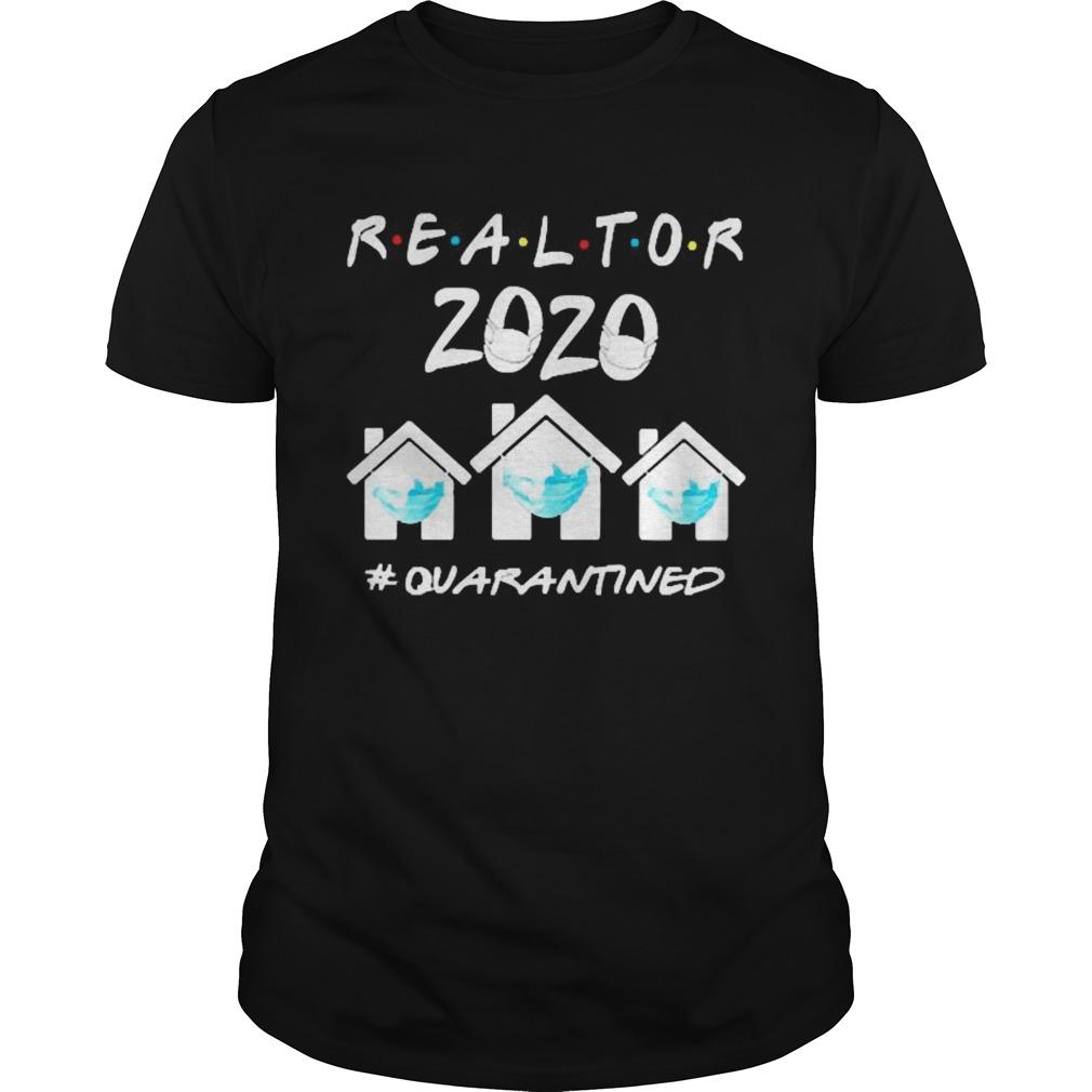 Realtor 2020 face mask quarantined shirt Classic Men's