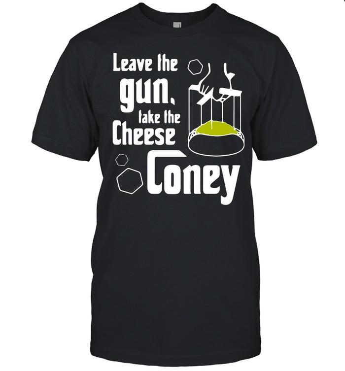 Leave The Gun Take The Cheese Coney shirt Classic Men's T-shirt
