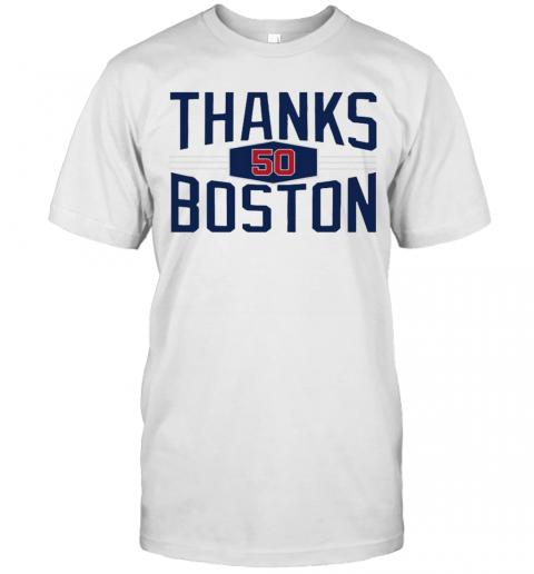 Mookie Betts Thanks Boston L.A shirt Classic Men's