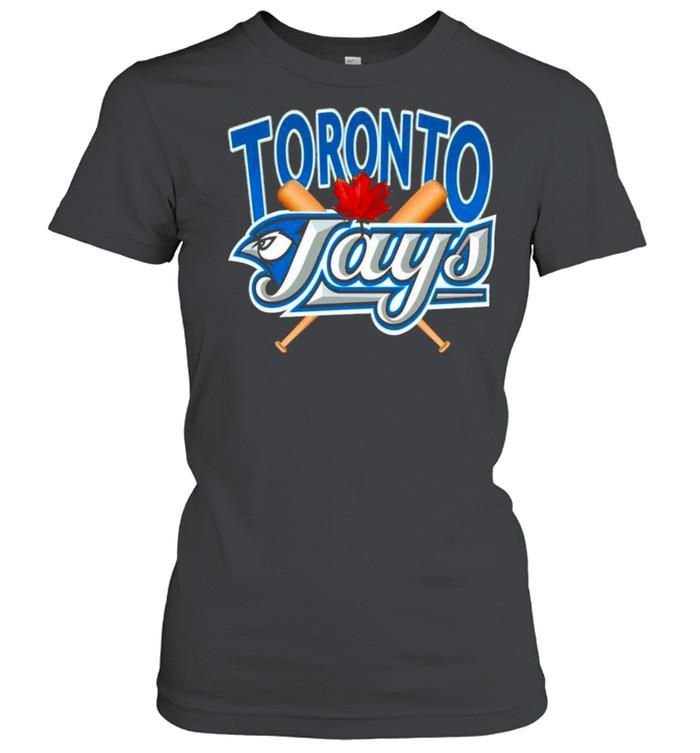 Toronto Blue Jays MLB Crewneck shirt Classic Women's T-shirt