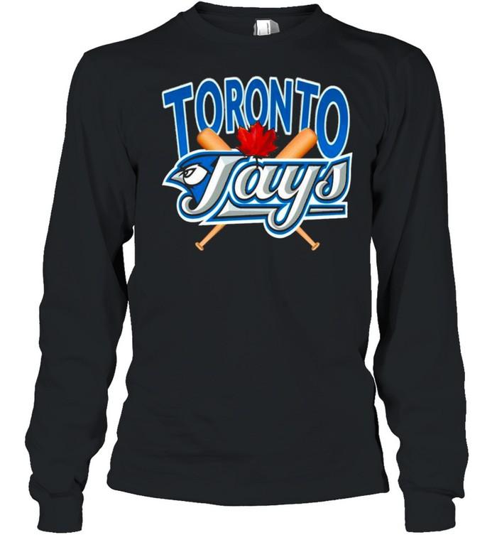 Toronto Blue Jays MLB Crewneck shirt Long Sleeved T-shirt