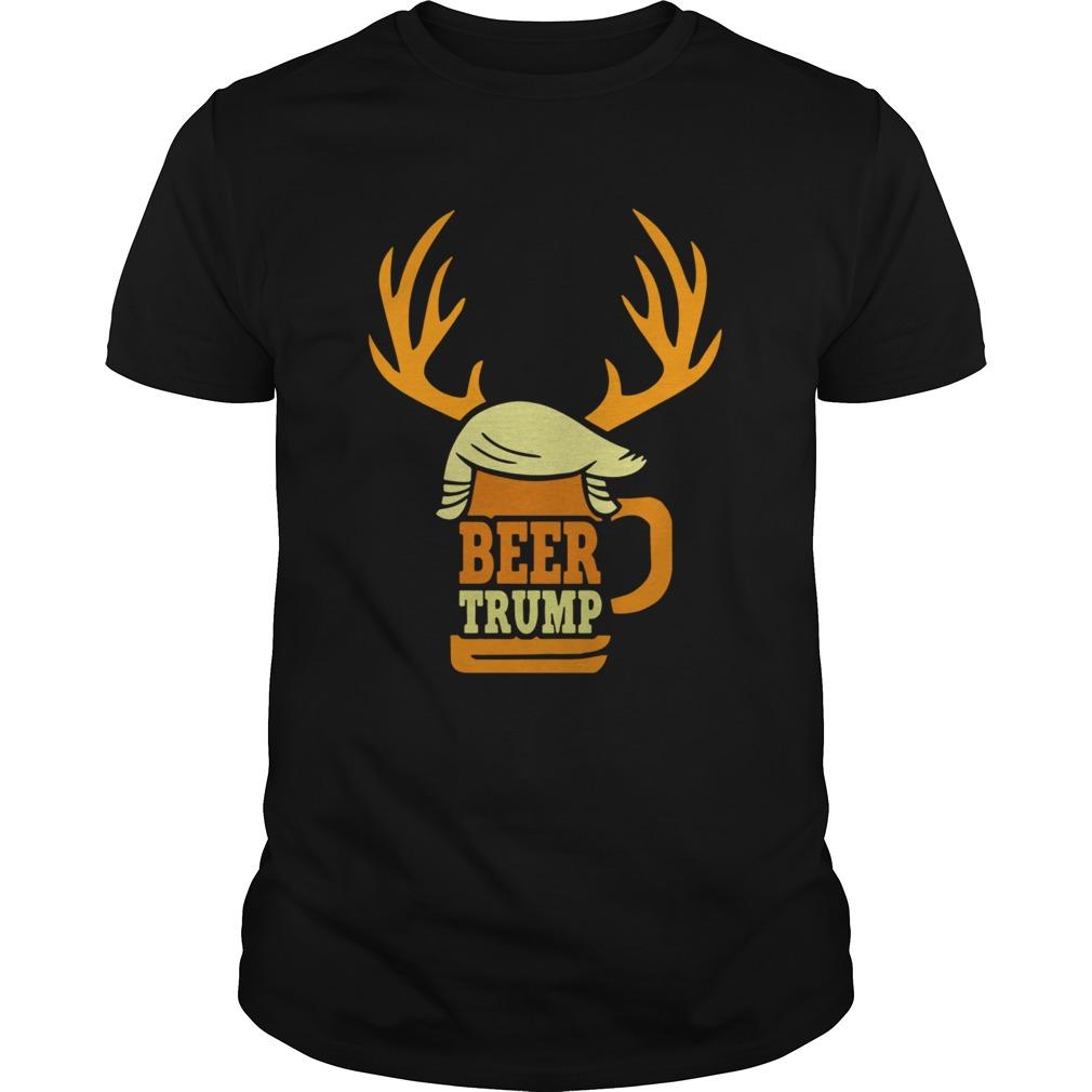 Beer Trump Reindeer Christmas shirt Classic Men's