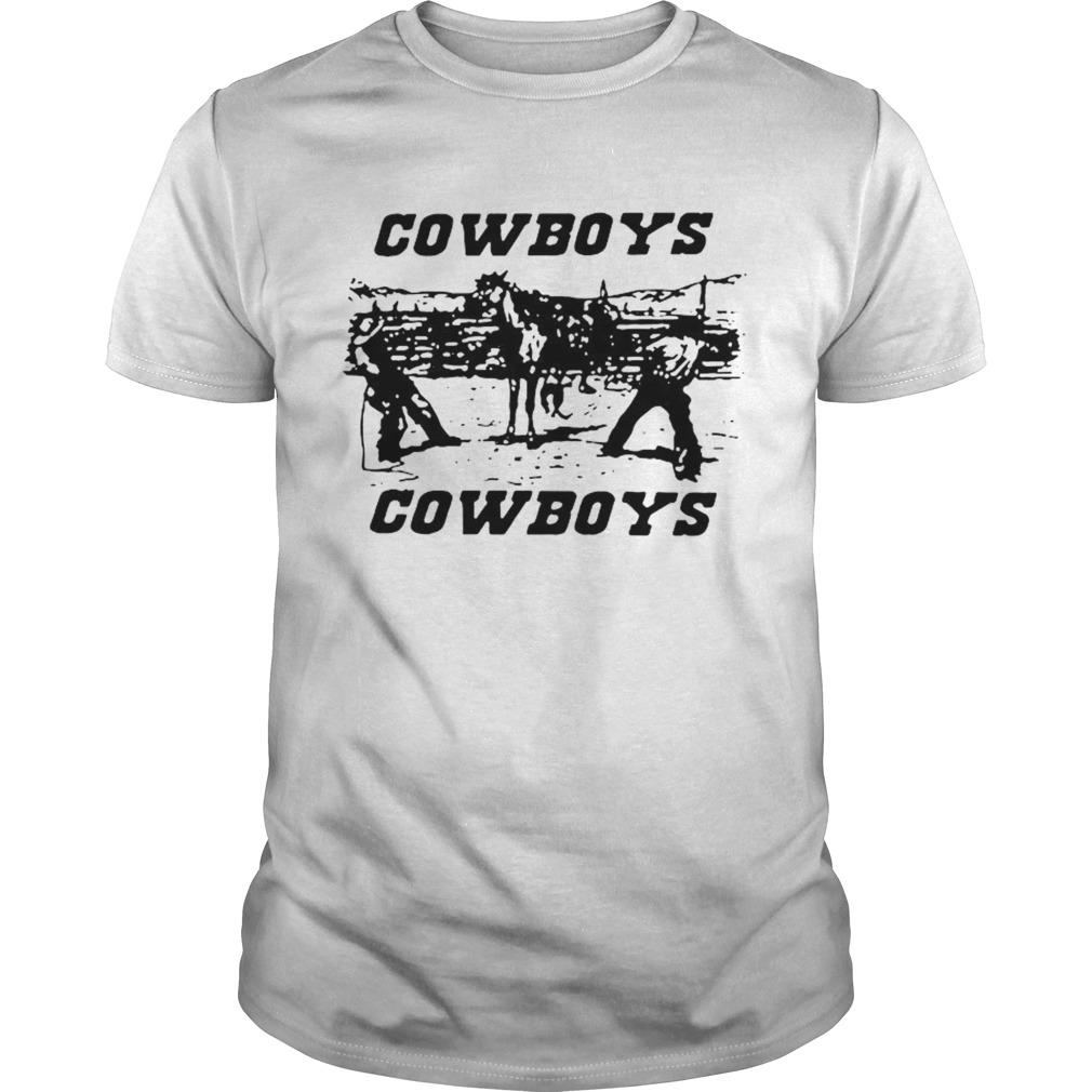 Brandy Melville Cowboys shirt Classic Men's