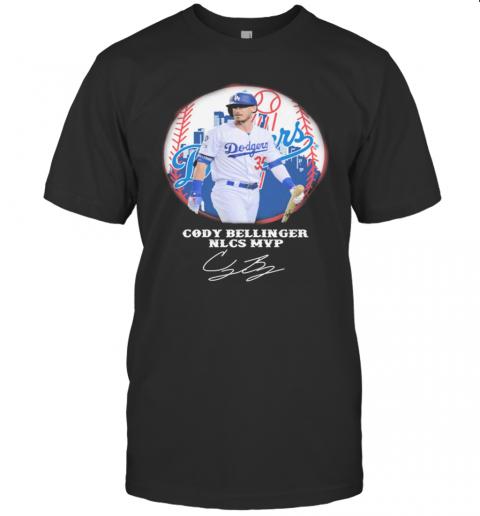 Cody Bellinger Nlcs Mvp Los Angeles Dodgers Signature shirt Classic Men's