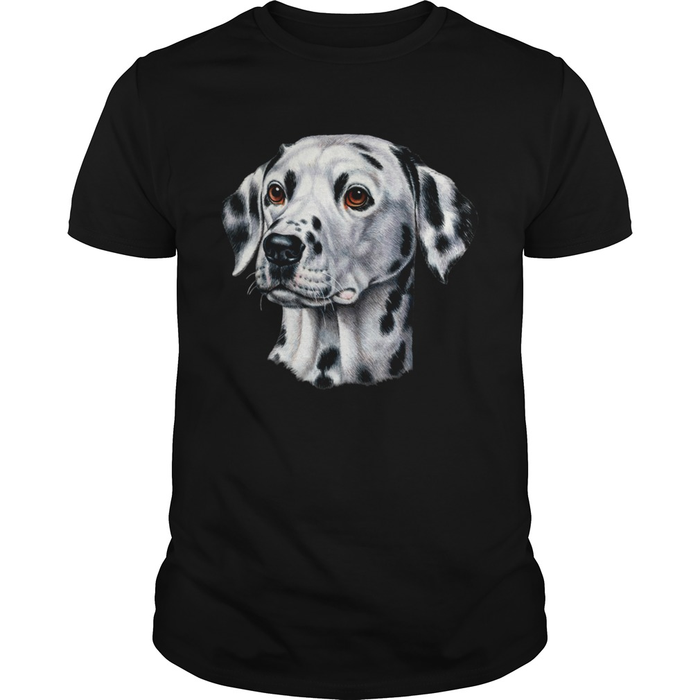 Dog Dalmatian Puppy Picture Loves Dogs Pets shirt Classic Men's