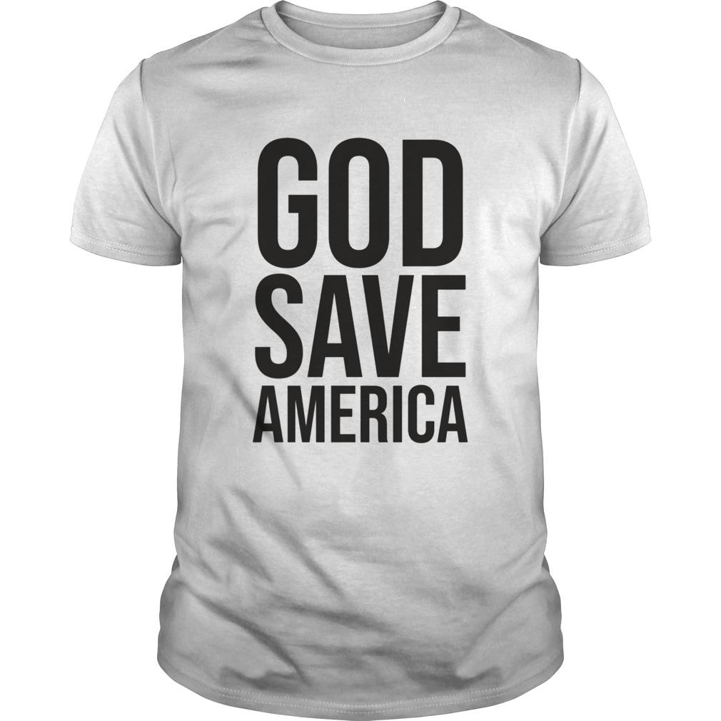 God Save America shirt Classic Men's