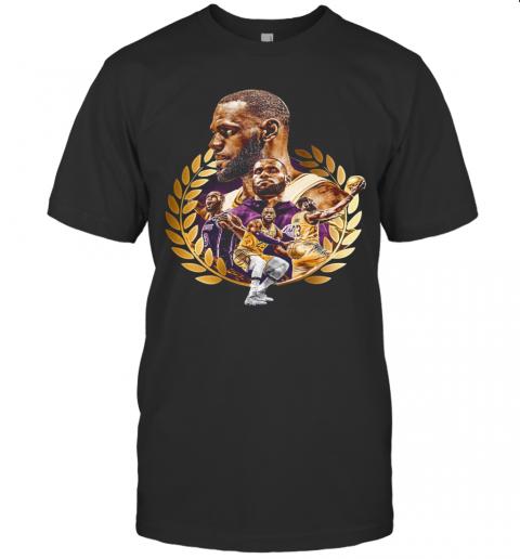 Lebron James MVP 2020 Los Angeles Laker shirt Classic Men's