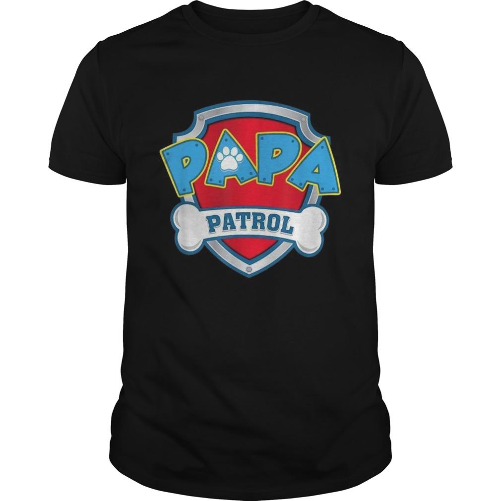 Mens Papa Patrol Dog Mom shirt Classic Men's