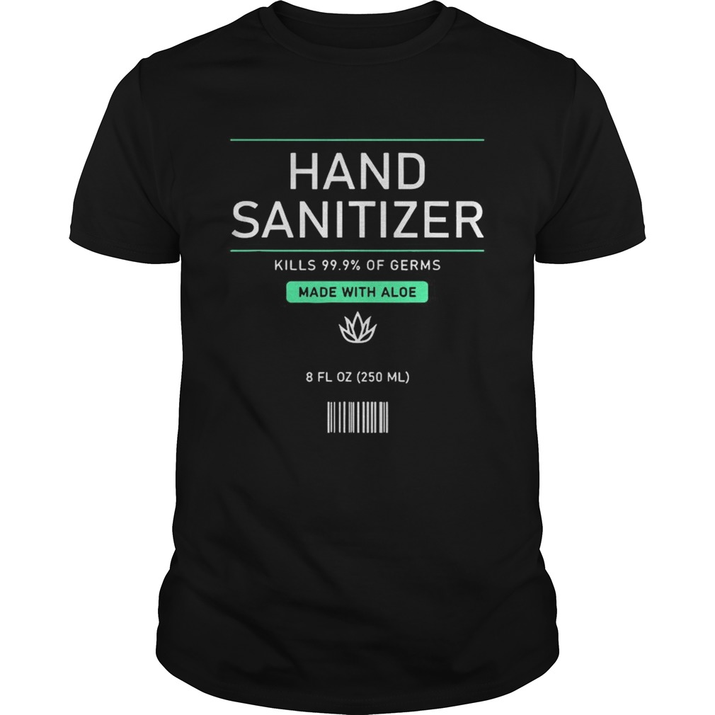 Pretend Hand Sanitizer Funny And Easy Halloween Costume 2020 shirt Classic Men's