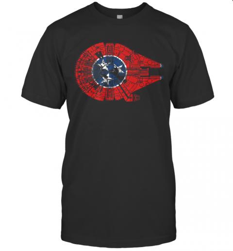 Star Wars Millennium Falcon shirt Classic Men's