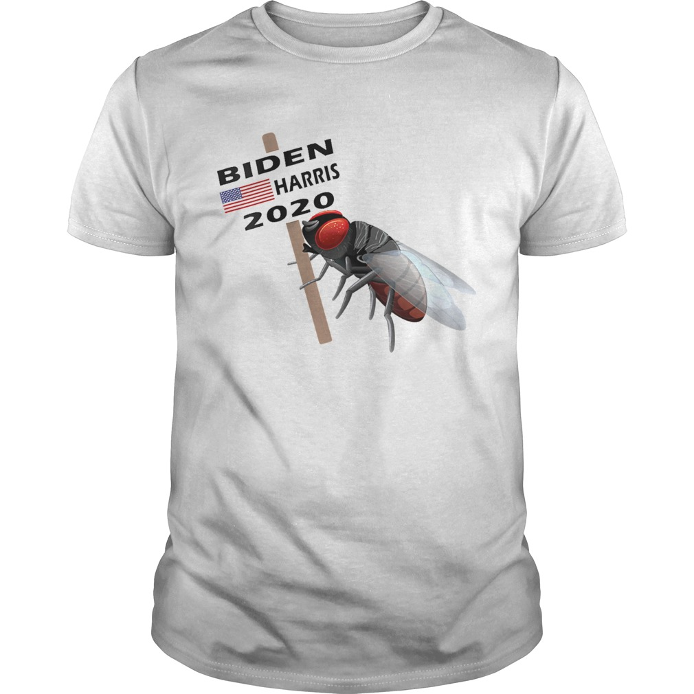 The Debate Fly on Mike Pences Head for Biden Harris 2020 shirt Classic Men's