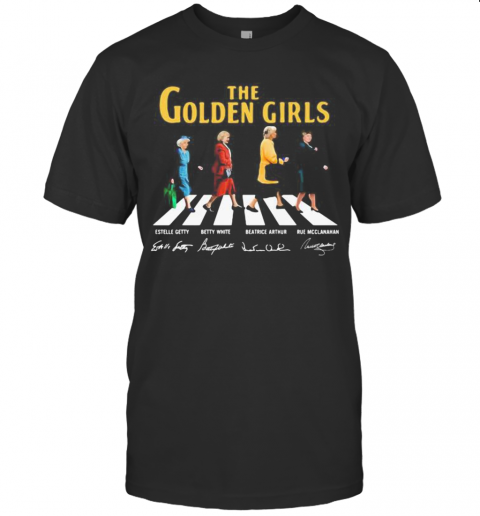 The Golden Girls Crossing The Line Signatures shirt Classic Men's