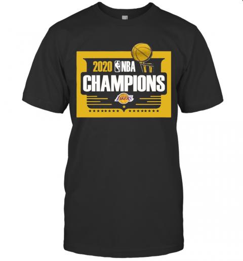 2020 Nba Champions Los Angeles Lakers shirt Classic Men's