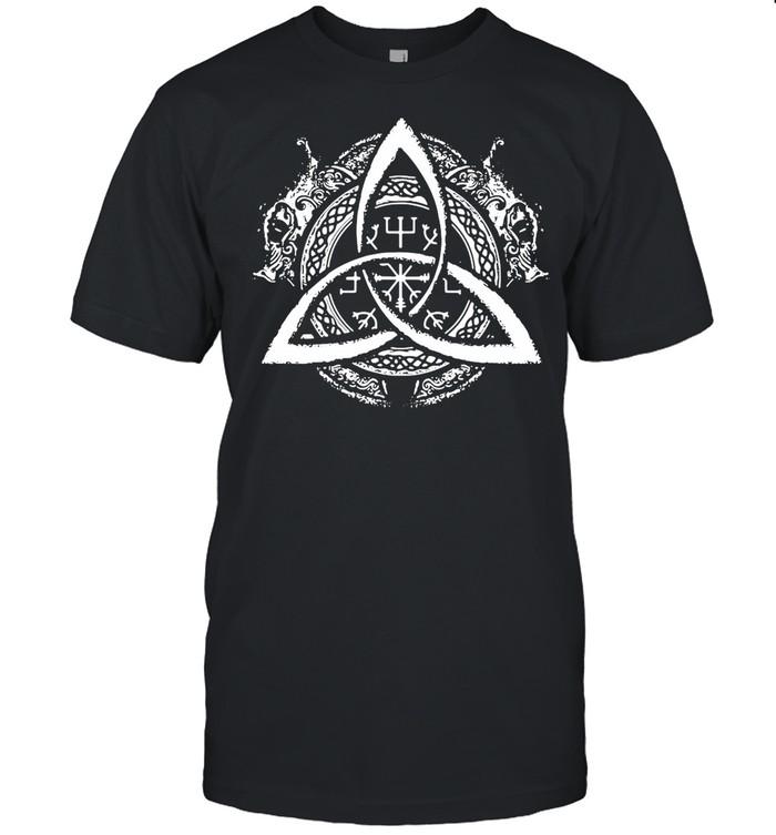 Celtic Knot Design Celtic Triskele shirt Classic Men's T-shirt