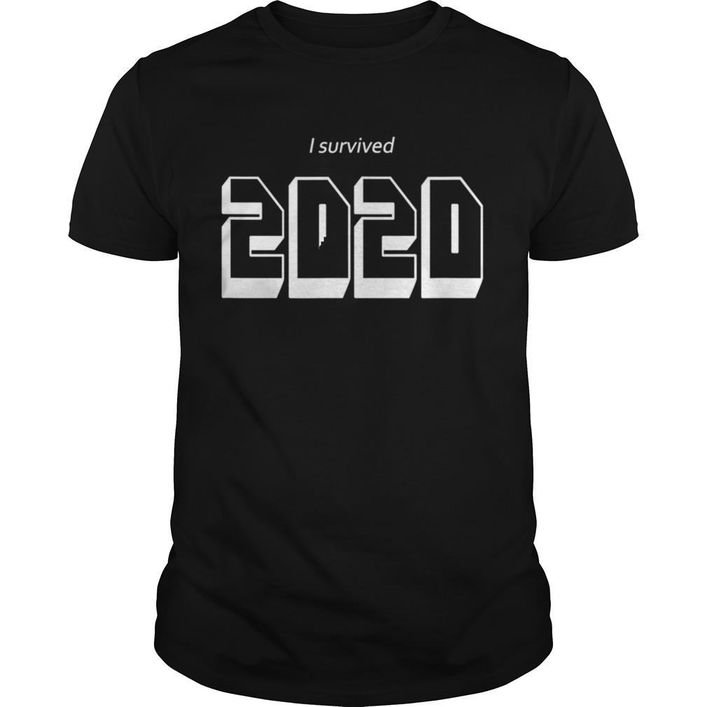 I Survived 2020 Year Meme Milestone Celebration shirt Classic Men's