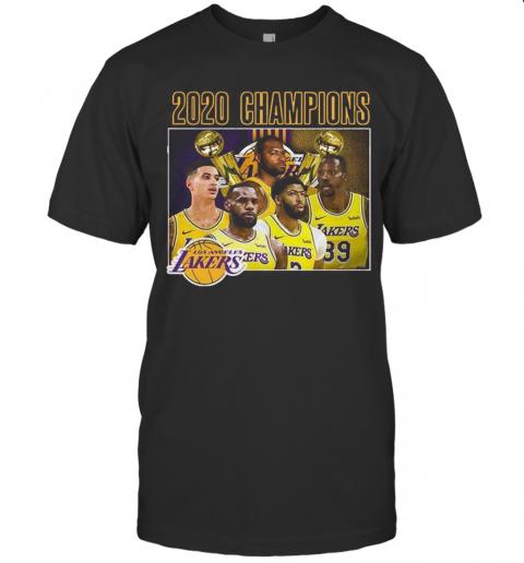 Los Angeles Lakers 2020 Champions shirt Classic Men's