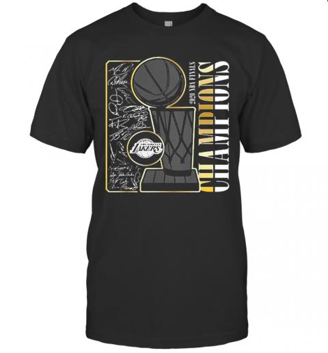 Los Angeles Lakers 2020 NBA Finals Champions shirt Classic Men's