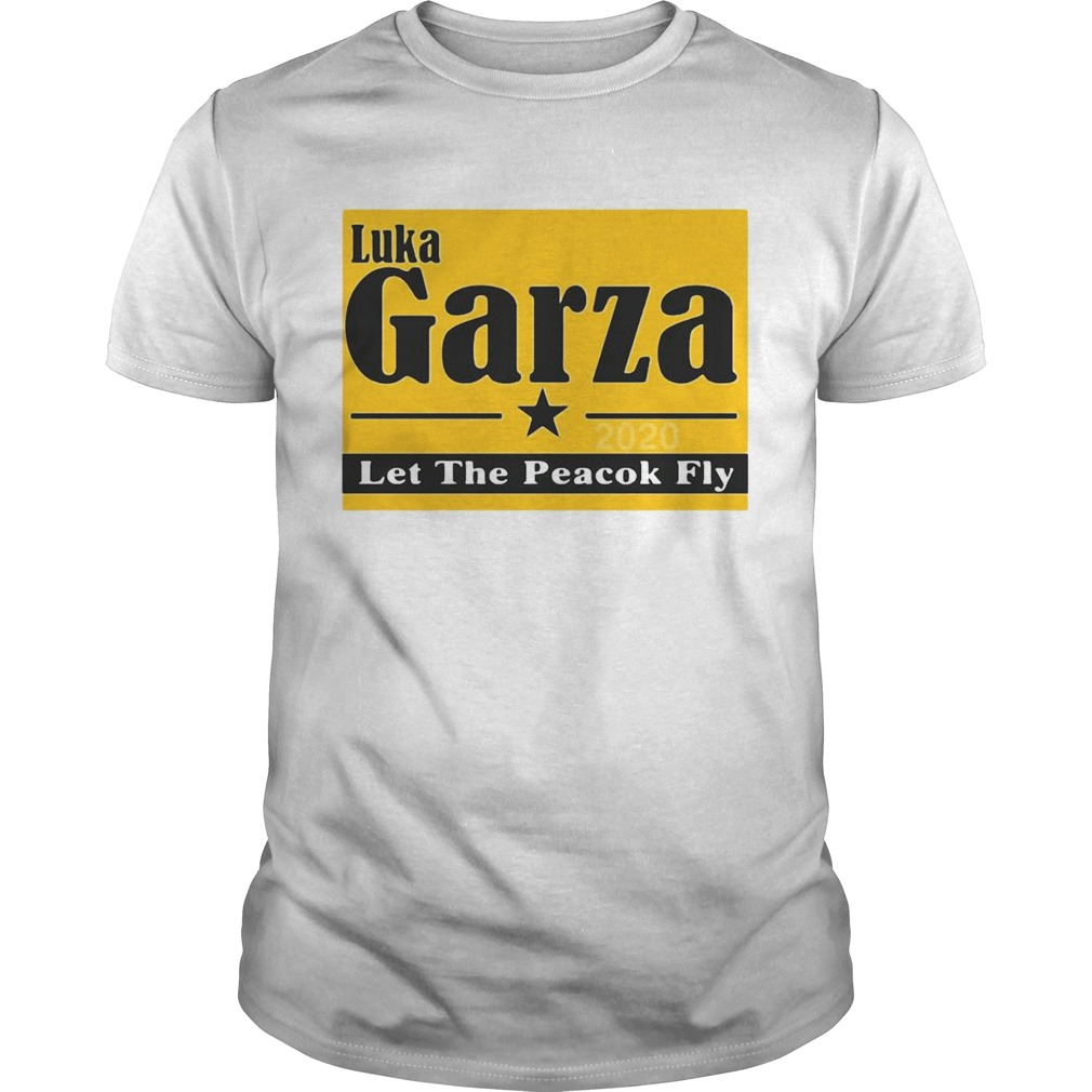 Luka Garza 2020 Let The Peacock Fly shirt Classic Men's