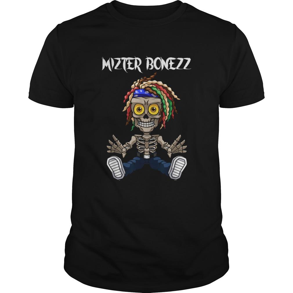 Mizter Bonezz DJ Producer EDM Reggae shirt Classic Men's