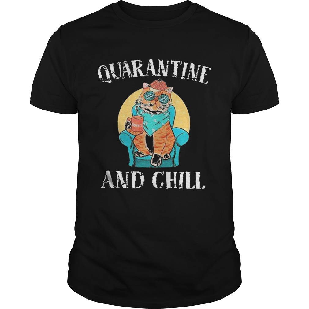 Good Cat Quarantine And Chill 2020 shirt Classic Men's