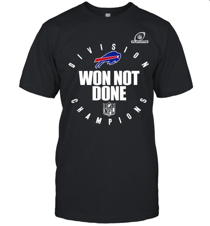 Buffalo bills afc east champions 2021 won not done shirt Classic Men's T-shirt