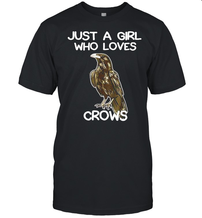 Just A Girl Who Loves Crows for Women Crow and Raven Lovers shirt Classic Men's T-shirt