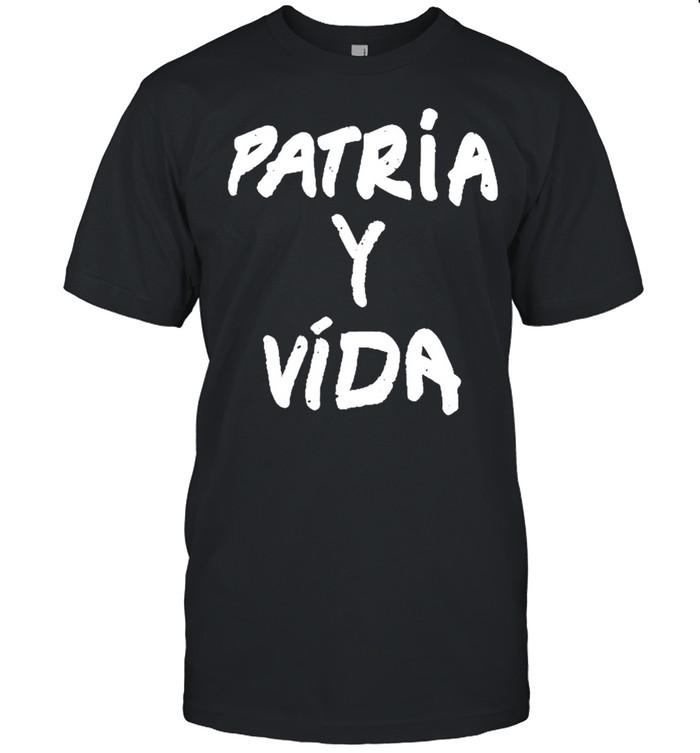 Patria y vida shirt Classic Men's T-shirt