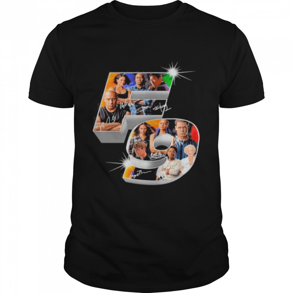 The Fast And Furious F9 Signatures shirt Classic Men's T-shirt