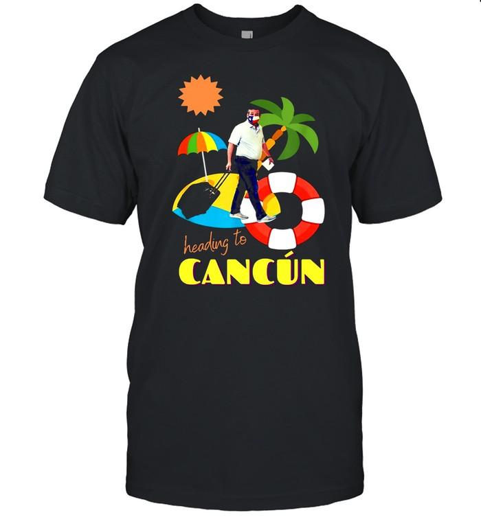 Heading To Cancun Camping shirt Classic Men's T-shirt