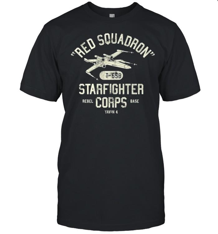 Star Wars Red Squadron Rebel Poster shirt Classic Men's T-shirt