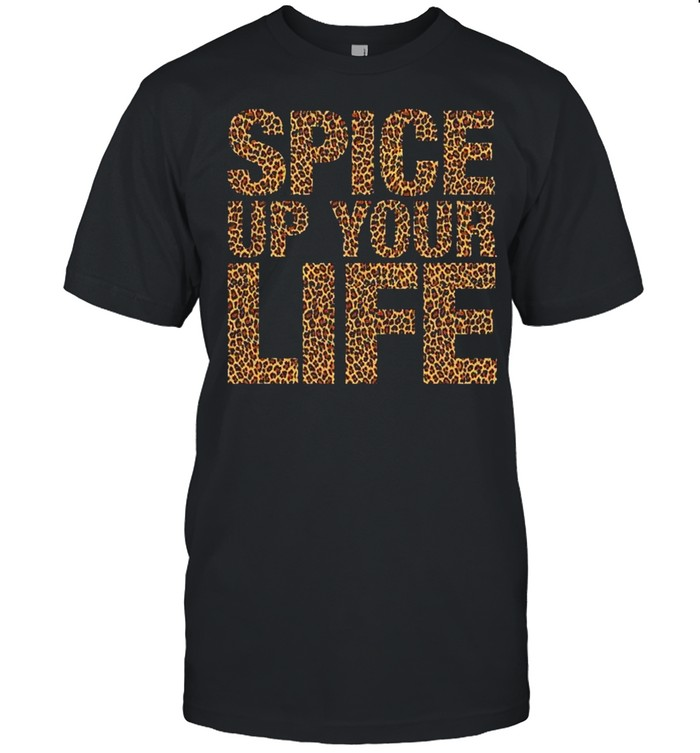 Spice Up Your Life Exotic Leopard Print  Classic Men's T-shirt