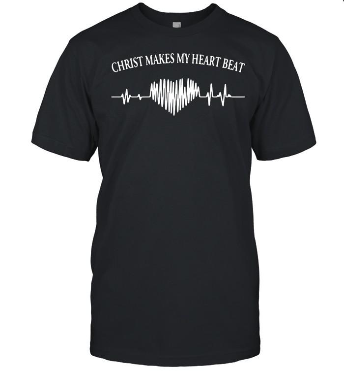 Victimised Christ Makes My 2 Heartbeat shirt Classic Men's T-shirt