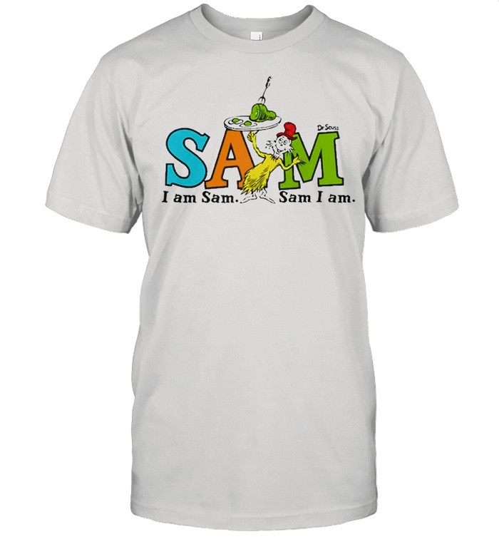 Dr. Seuss Green Eggs And Ham Sam Raglan Baseball  Classic Men's T-shirt