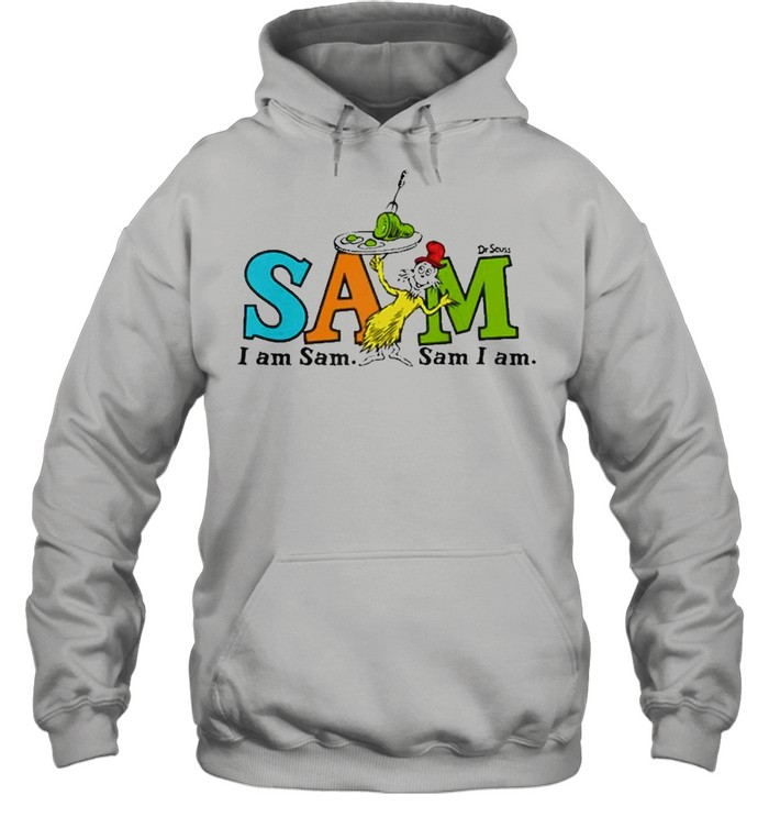 Dr. Seuss Green Eggs And Ham Sam Raglan Baseball  Unisex Hoodie
