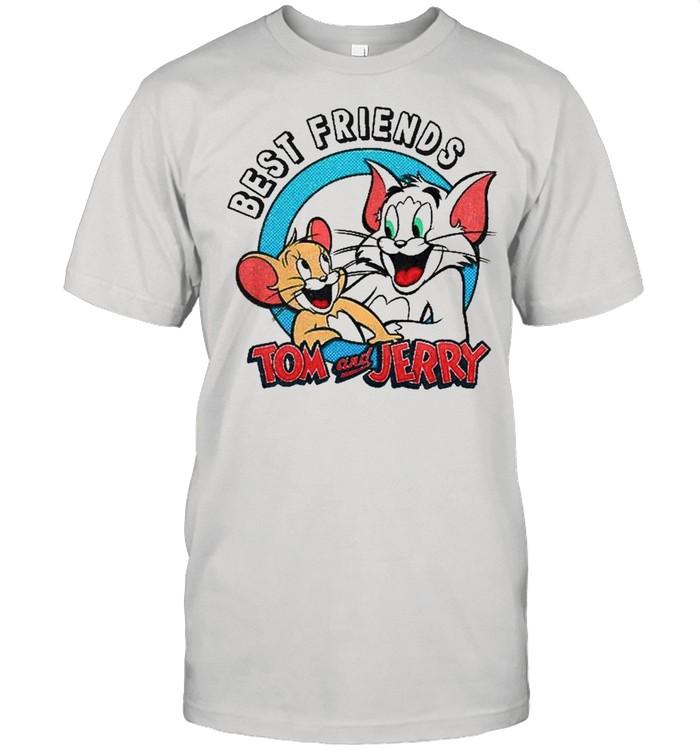 Tom And Jerry Best Friends Portrait Premium  Classic Men's T-shirt